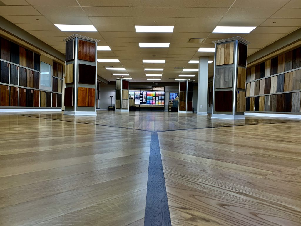 Laminated Floor Showroom