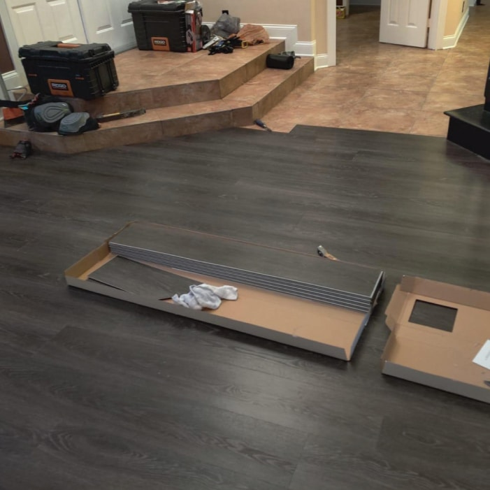 Coal Expresso Luxury Vinyl Flooring